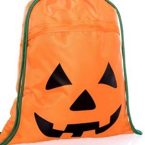 Thirty one playful pumpkin cinch sac